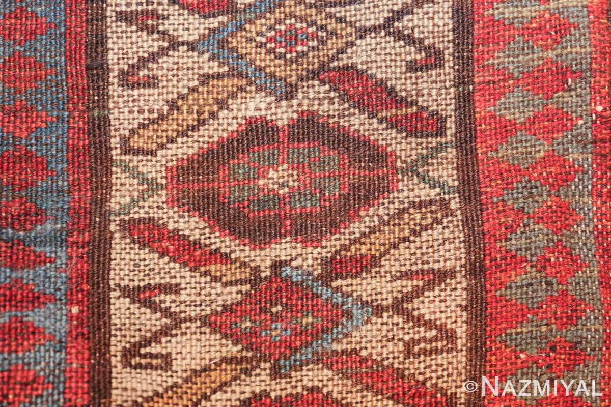 antique tribal persian kurdish runner rug 49710 knots Nazmiyal