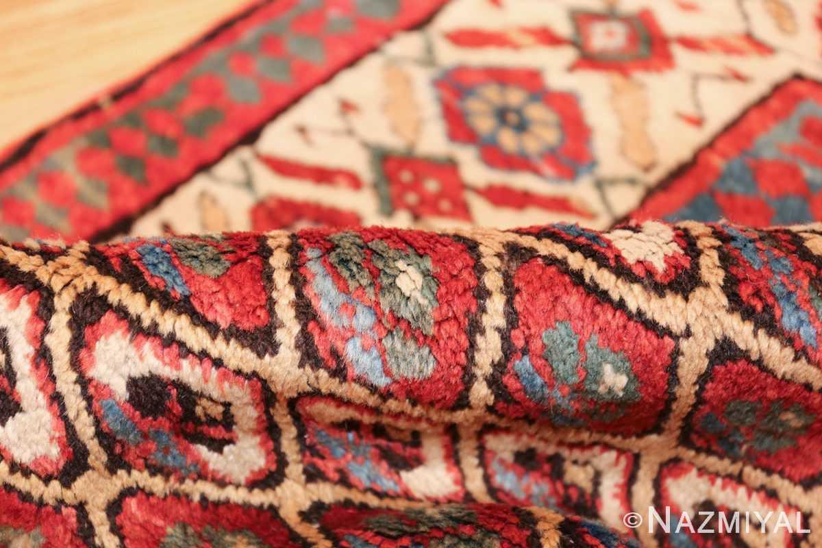 antique tribal persian kurdish runner rug 49710 pile Nazmiyal