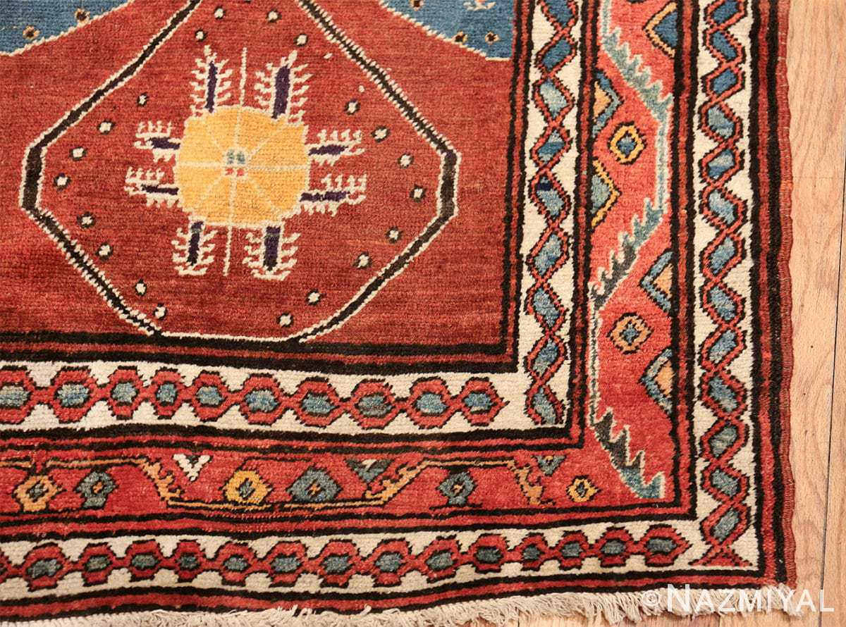 antique tribal persian northwest runner rug 49721 corner Nazmiyal