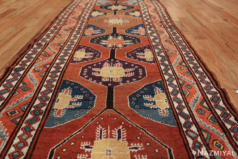 antique tribal persian northwest runner rug 49721 lines Nazmiyal