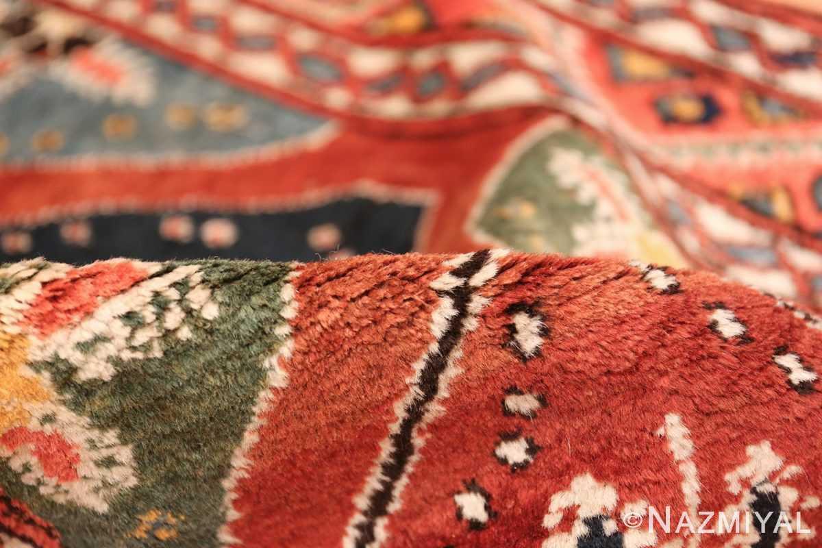 antique tribal persian northwest runner rug 49721 pile Nazmiyal