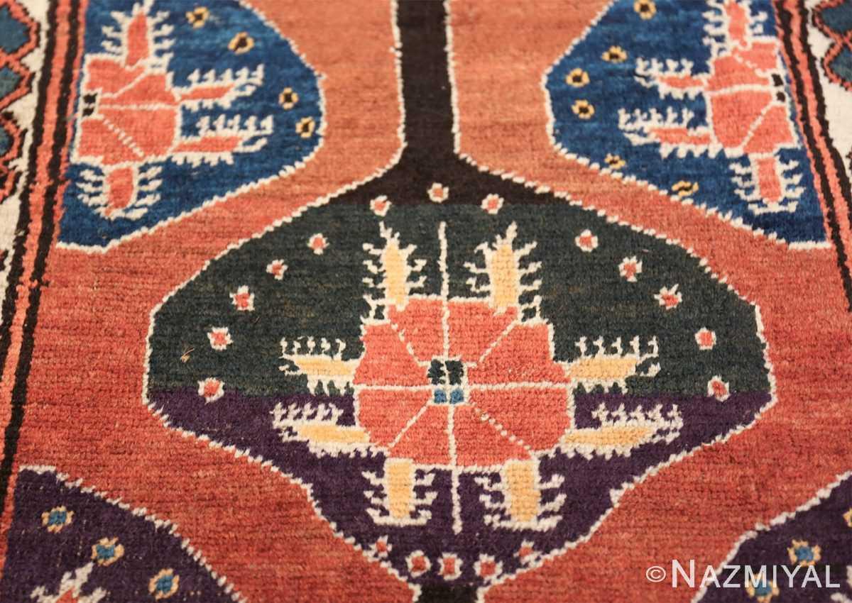 antique tribal persian northwest runner rug 49721 purple Nazmiyal