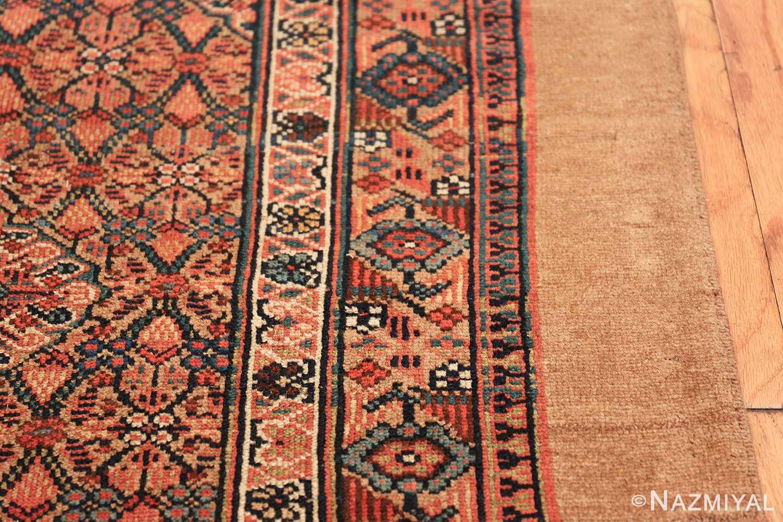long and narrow antique tribal persian serab runner rug 49719 border Nazmiyal