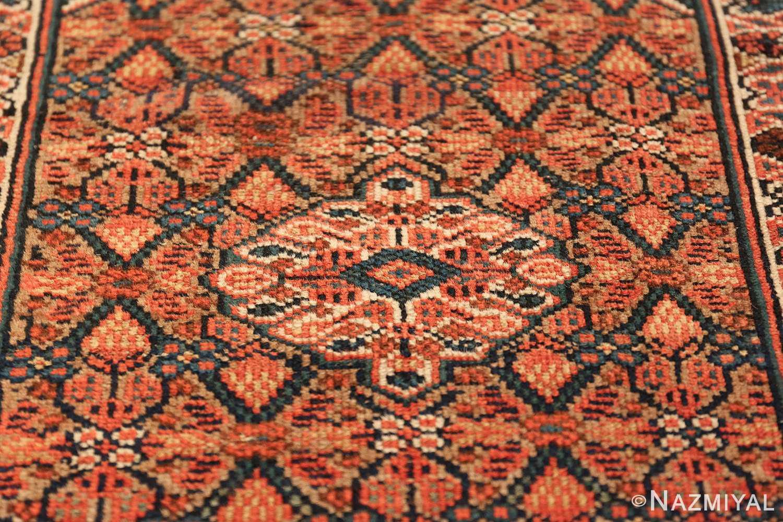 long and narrow antique tribal persian serab runner rug 49719 center Nazmiyal
