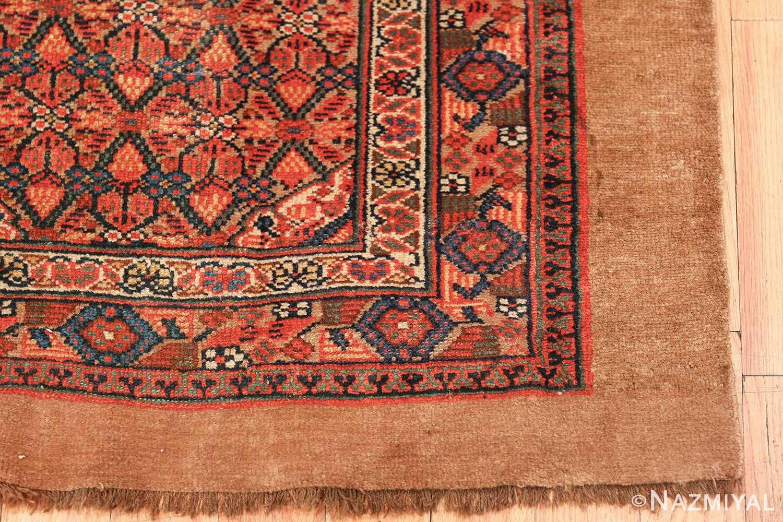 long and narrow antique tribal persian serab runner rug 49719 corner Nazmiyal