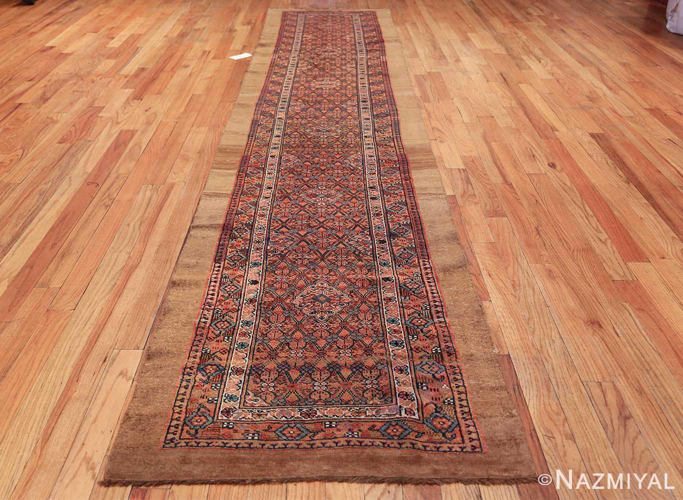 long and narrow antique tribal persian serab runner rug 49719 whole Nazmiyal