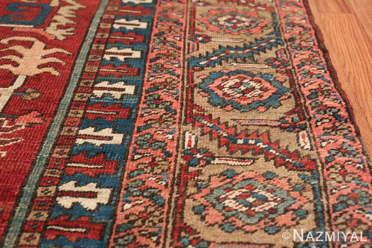room size antique persian heriz rug 49478 border Nazmiyal