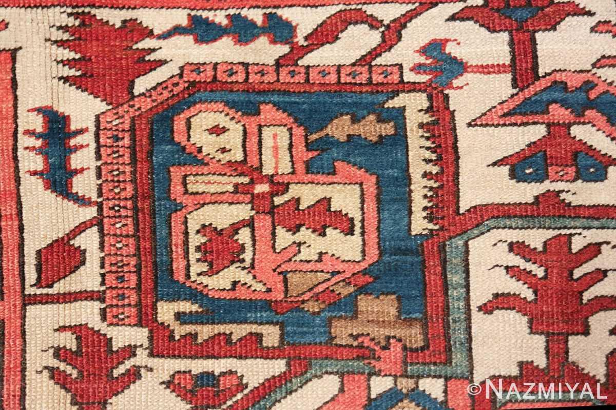 room size antique persian heriz rug 49478 house Nazmiyal