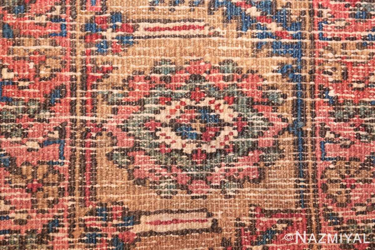 room size antique persian heriz rug 49478 knots Nazmiyal