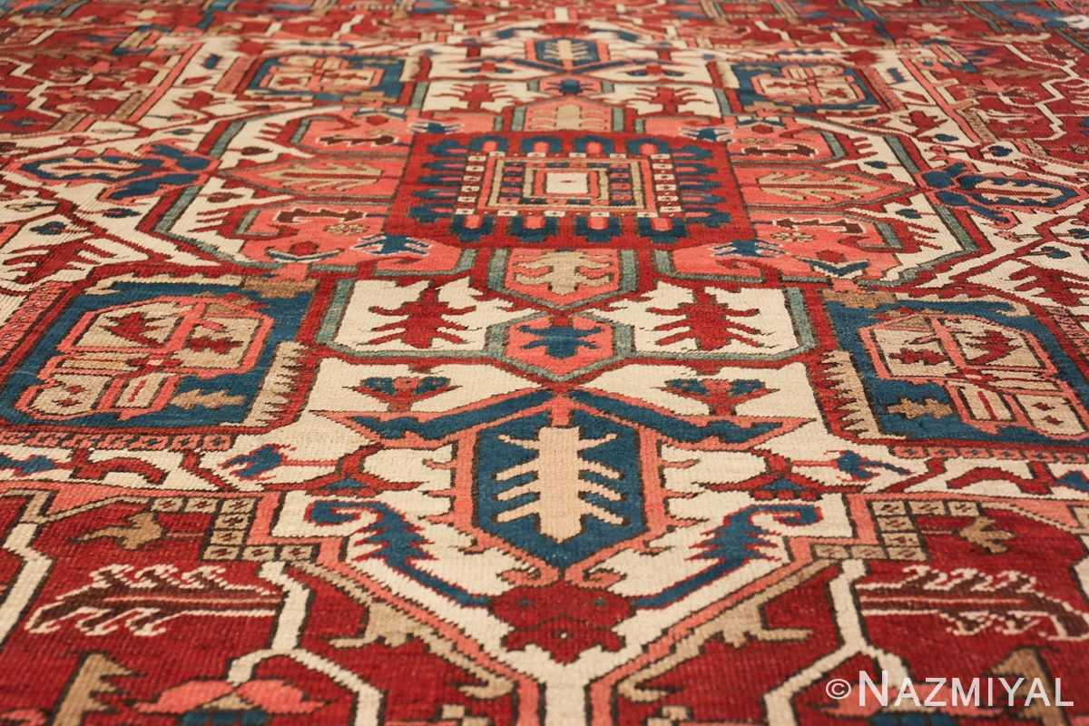 room size antique persian heriz rug 49478 medallion Namiyal