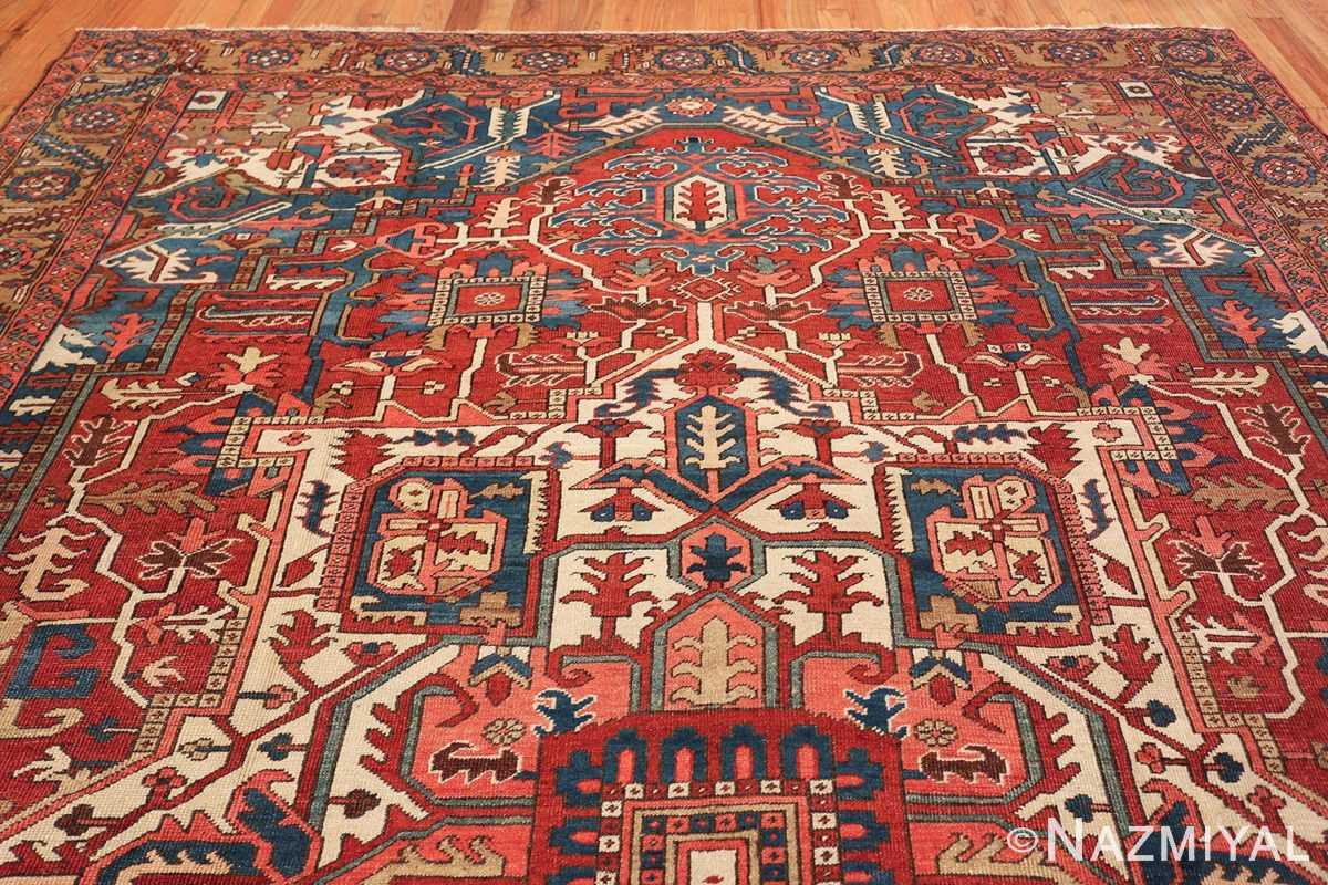 room size antique persian heriz rug 49478 top Nazmiyal