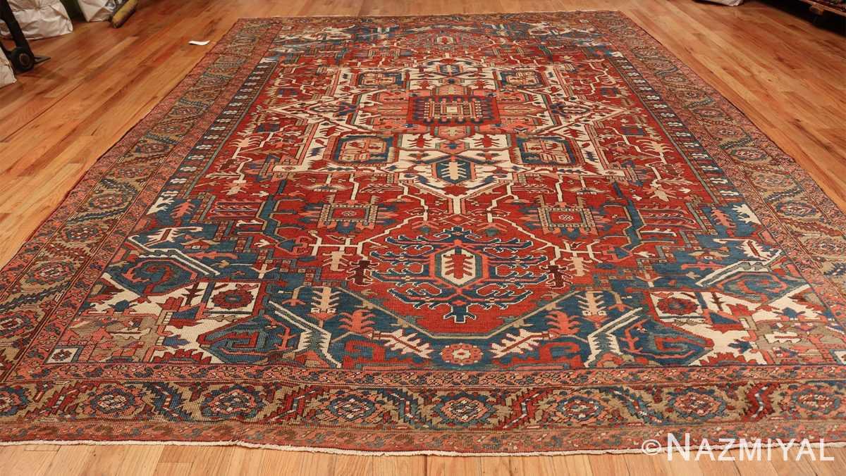 room size antique persian heriz rug 49478 whole Nazmiyal