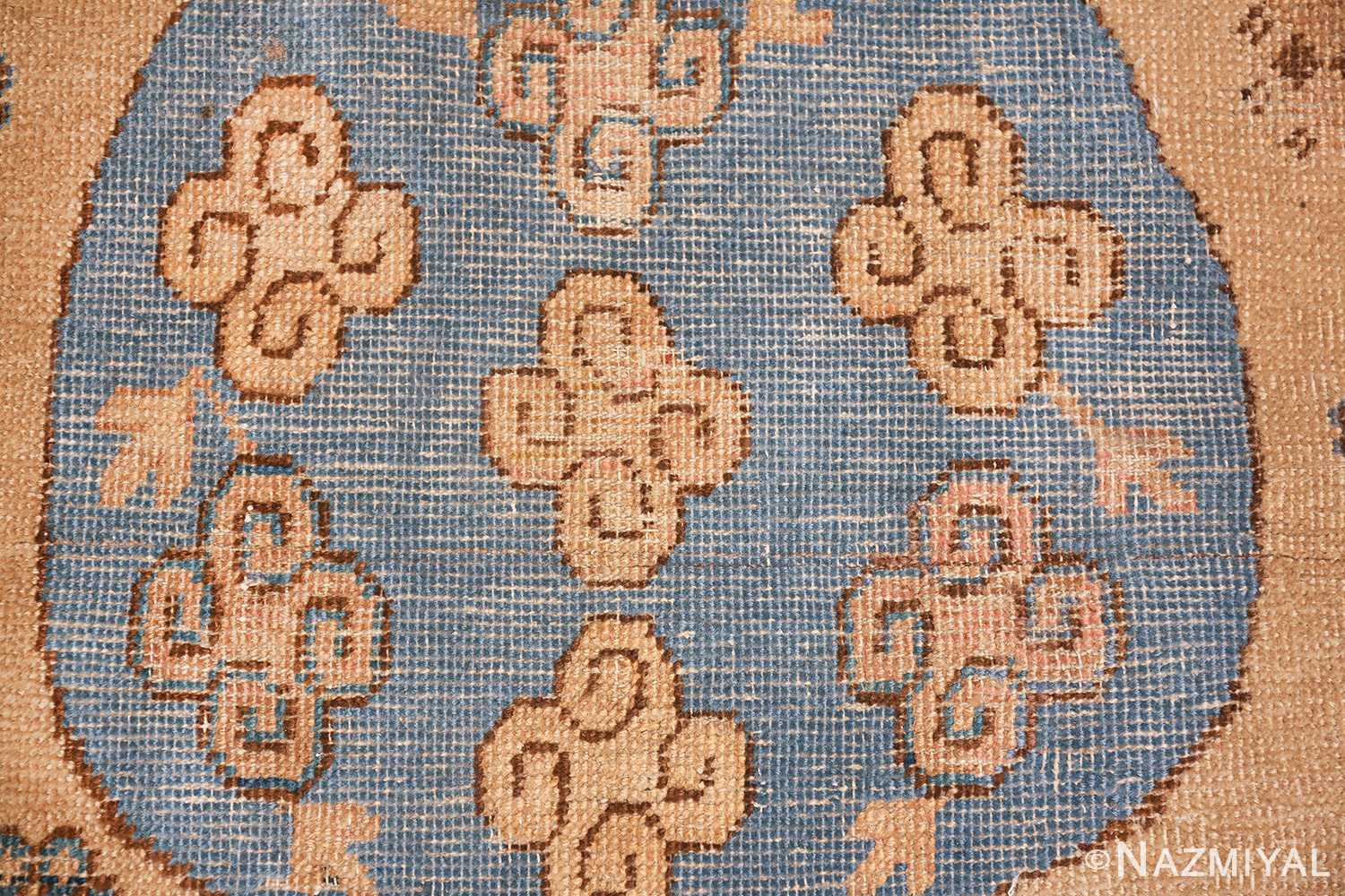 small size antique east turkestan khotan rug 49648 clouds Nazmiyal