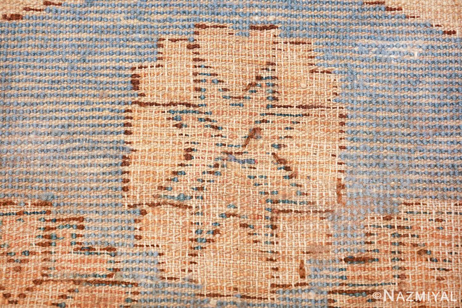 small size antique east turkestan khotan rug 49648 knots Nazmiyal