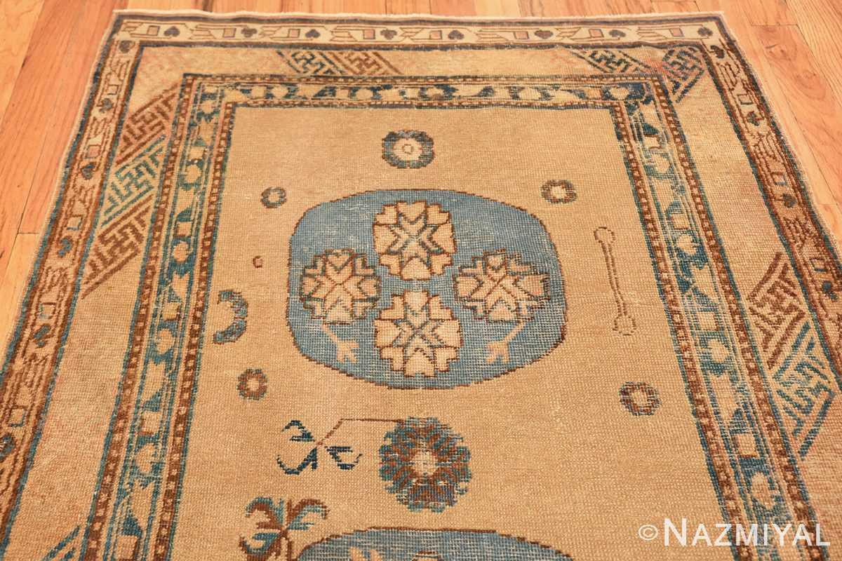 small size antique east turkestan khotan rug 49648 part Nazmiyal