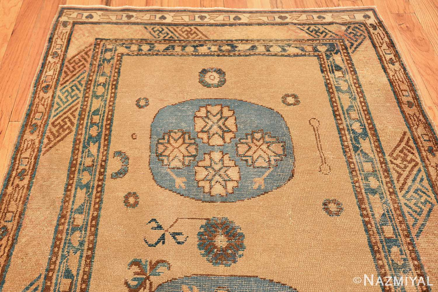 small size antique east turkestan khotan rug 49648 part Nazmiyal