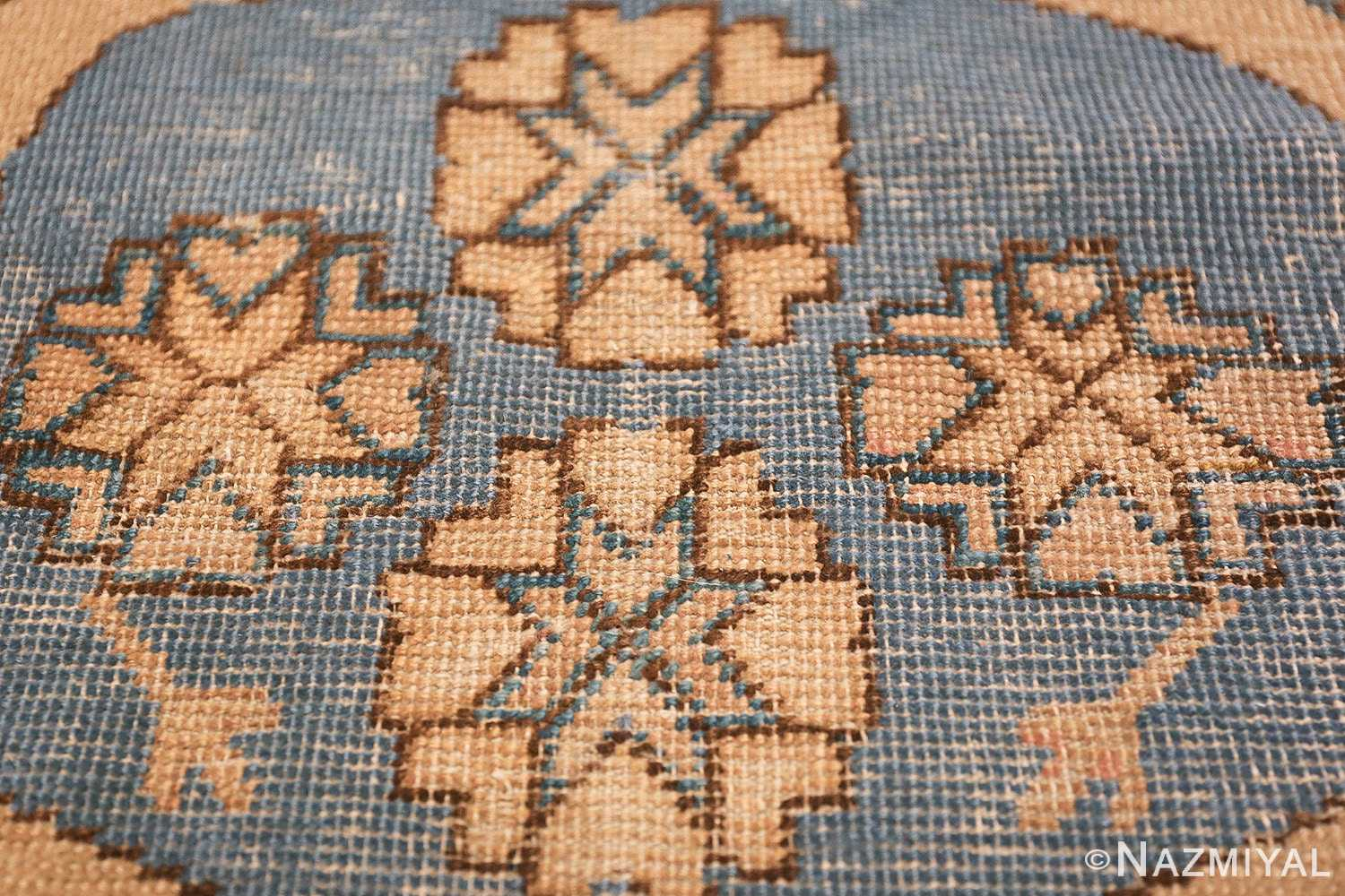 small size antique east turkestan khotan rug 49648 texture Nazmiyal
