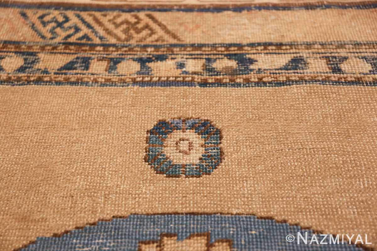 small size antique east turkestan khotan rug 49648 top Nazmiyal