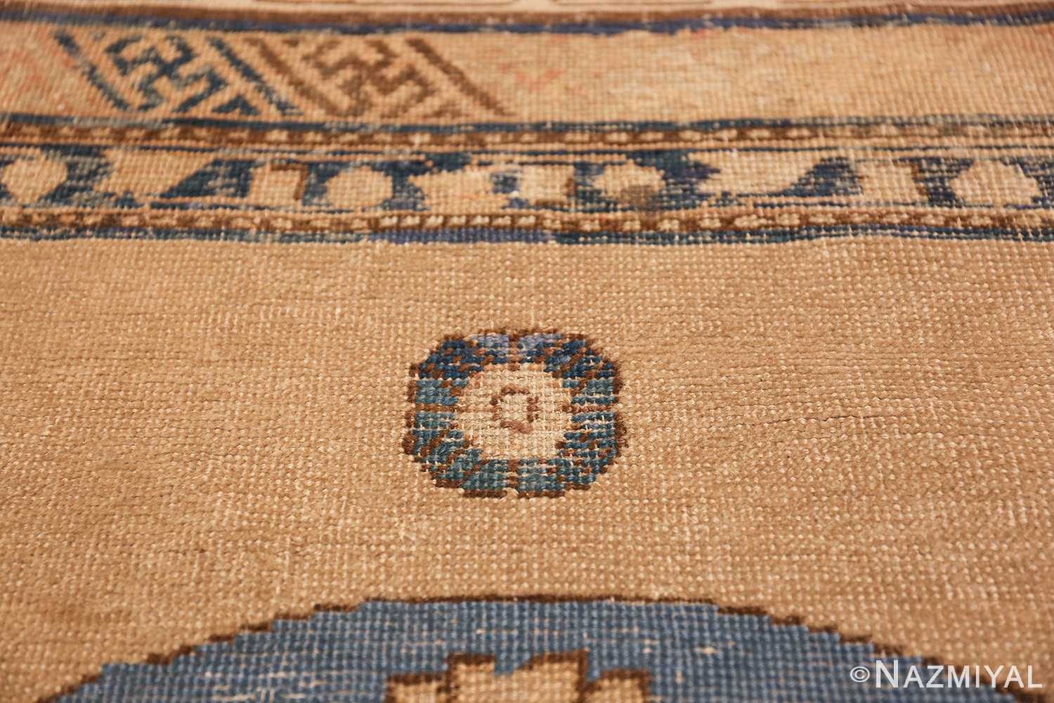 small size antique east turkestan khotan rug 49648 top Nazmiyal