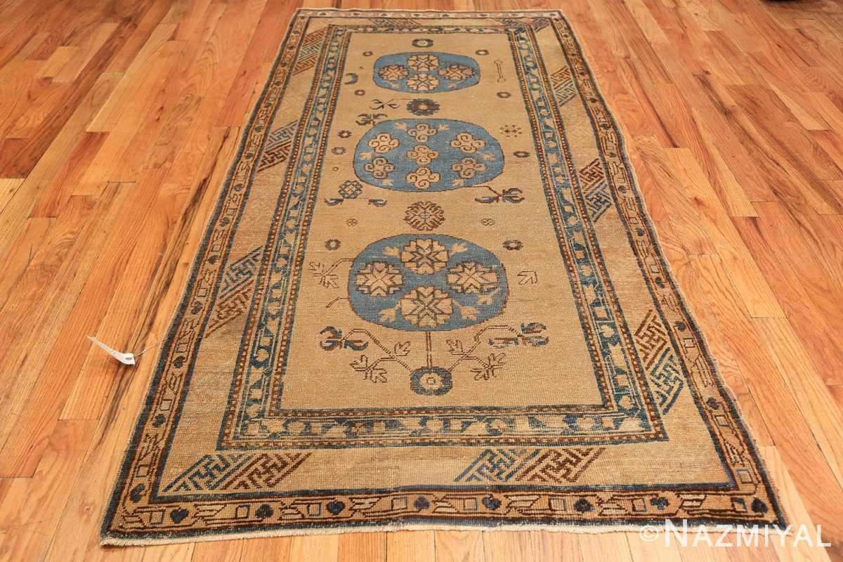small size antique east turkestan khotan rug 49648 whole Nazmiyal