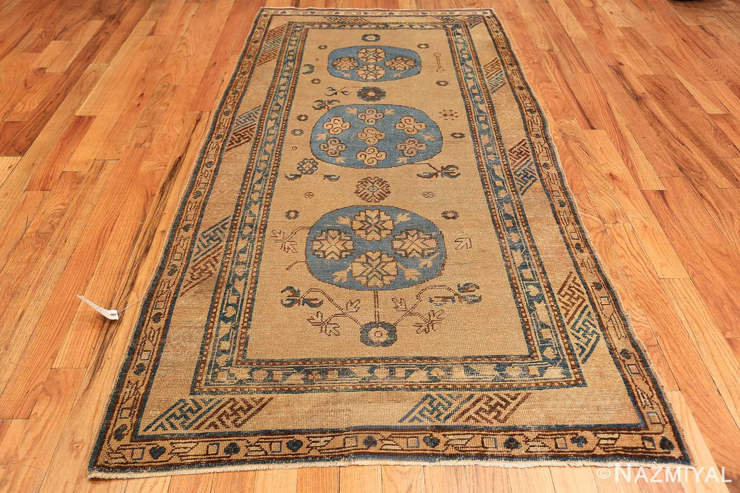 small size antique east turkestan khotan rug 49648 whole Nazmiyal
