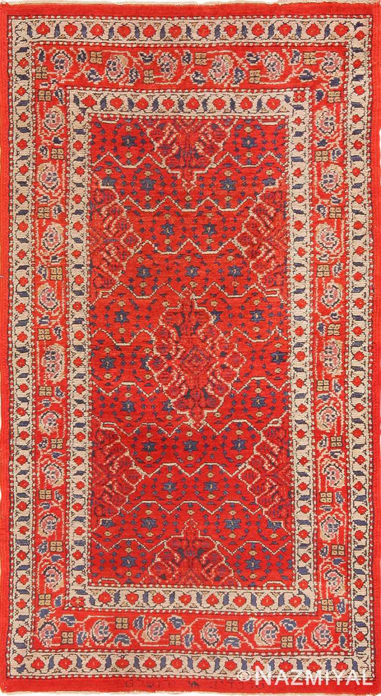 Small Size Antique Israeli Marbediah Rug 49736 - Nazmiyal