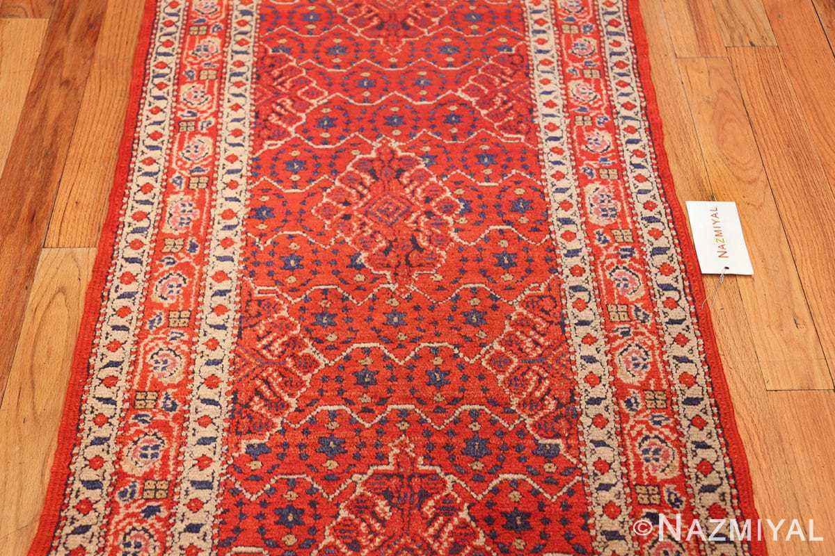 small size antique israeli marbediah rug 49736 field Nazmiyal