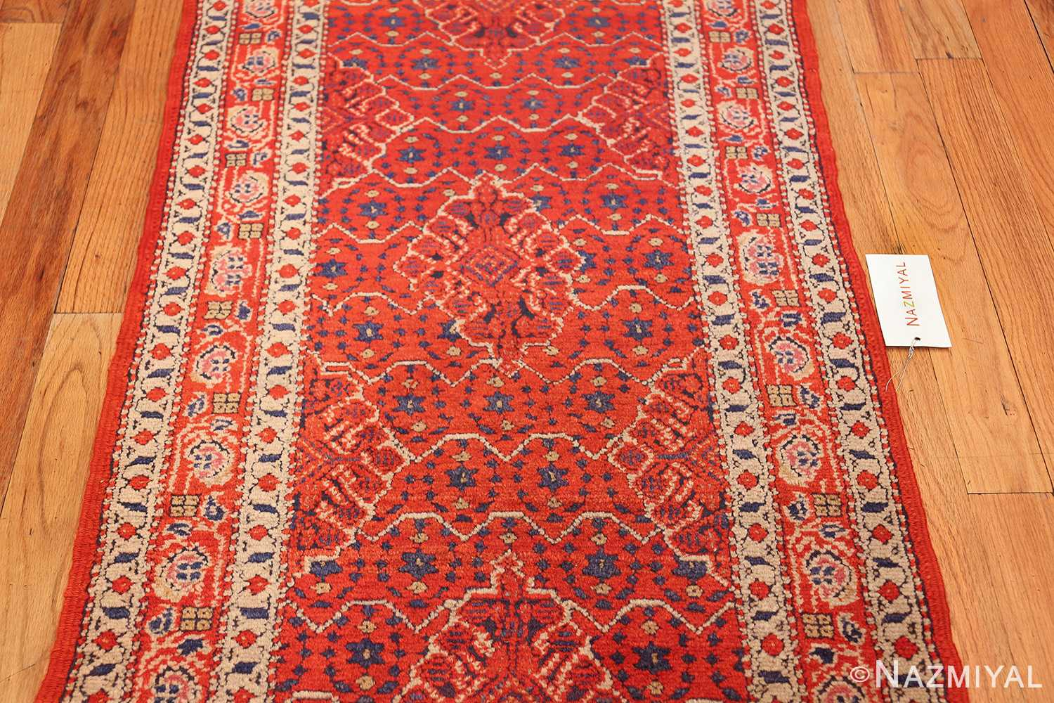 small size antique israeli marbediah rug 49736 field Nazmiyal