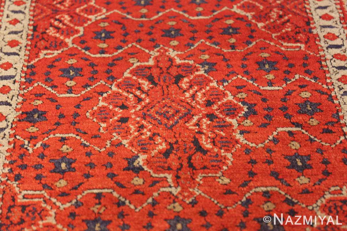small size antique israeli marbediah rug 49736 medallion Nazmiyal