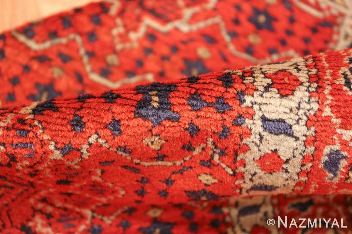 small size antique israeli marbediah rug 49736 pile Nazmiyal