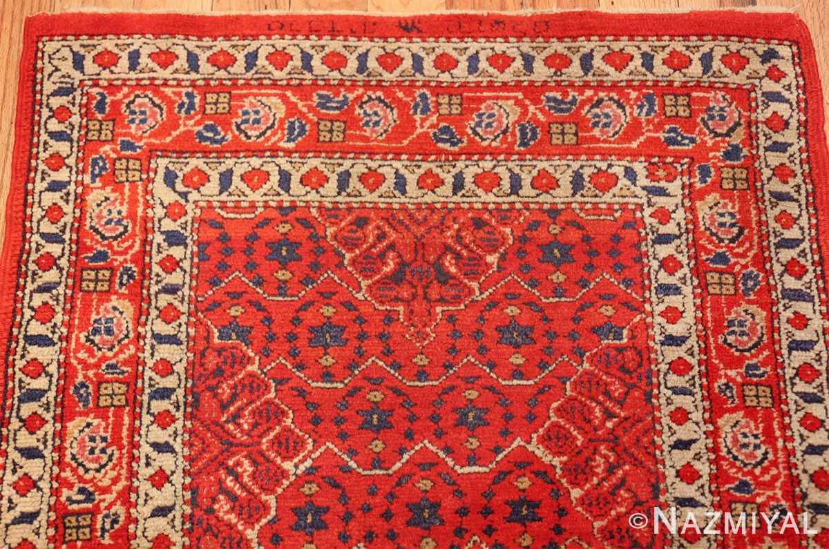 small size antique israeli marbediah rug 49736 top Nazmiyal