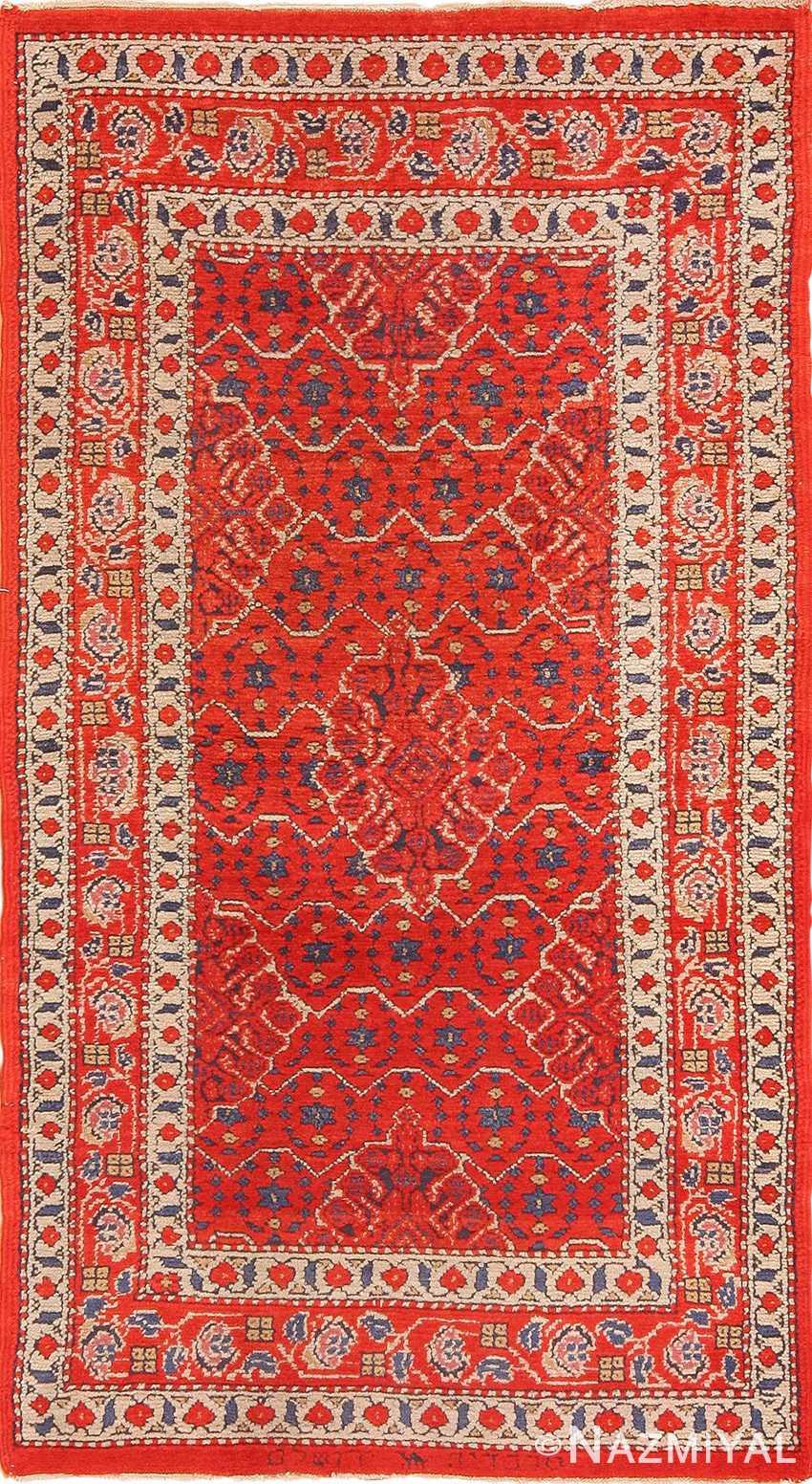 Small Size Antique Israeli Marbediah Rug 49736 - Nazmiyal
