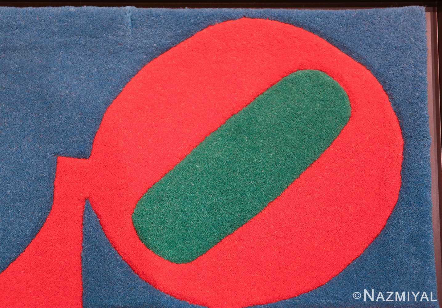 small size modern love rug by robert indiana 49739 shape Nazmiyal