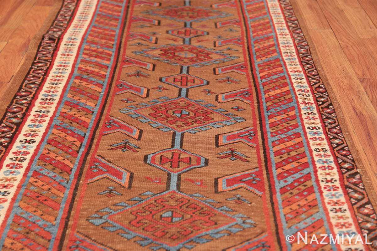 tribal antique persian bakshaish runner rug 49709 field Nazmiyal