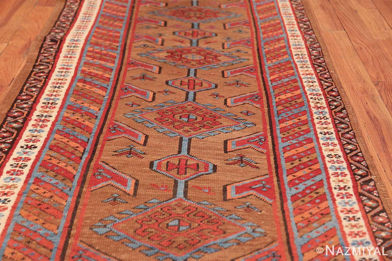 tribal antique persian bakshaish runner rug 49709 field Nazmiyal