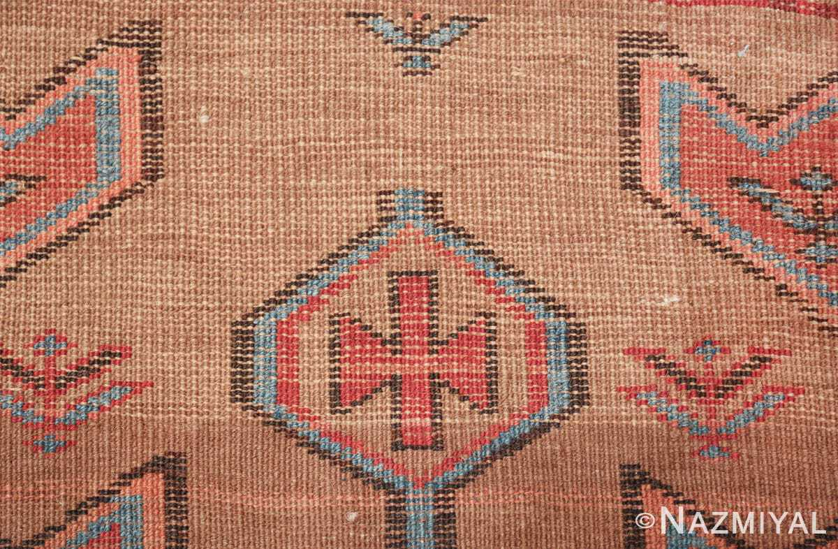 tribal antique persian bakshaish runner rug 49709 knots Nazmiyal