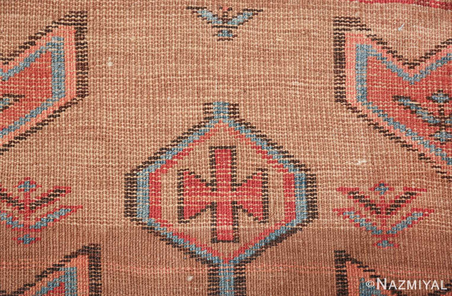 tribal antique persian bakshaish runner rug 49709 knots Nazmiyal