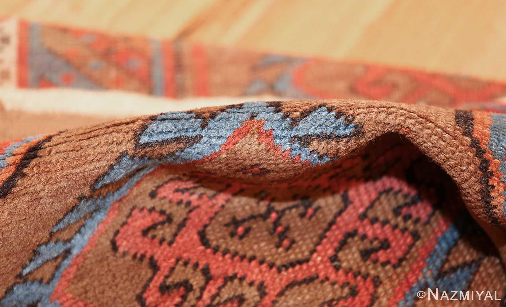 tribal antique persian bakshaish runner rug 49709 pile Nazmiyal