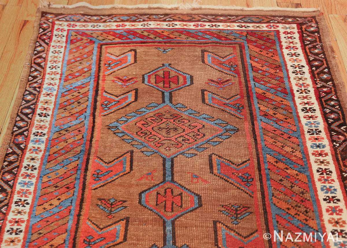 tribal antique persian bakshaish runner rug 49709 top Nazmiyal