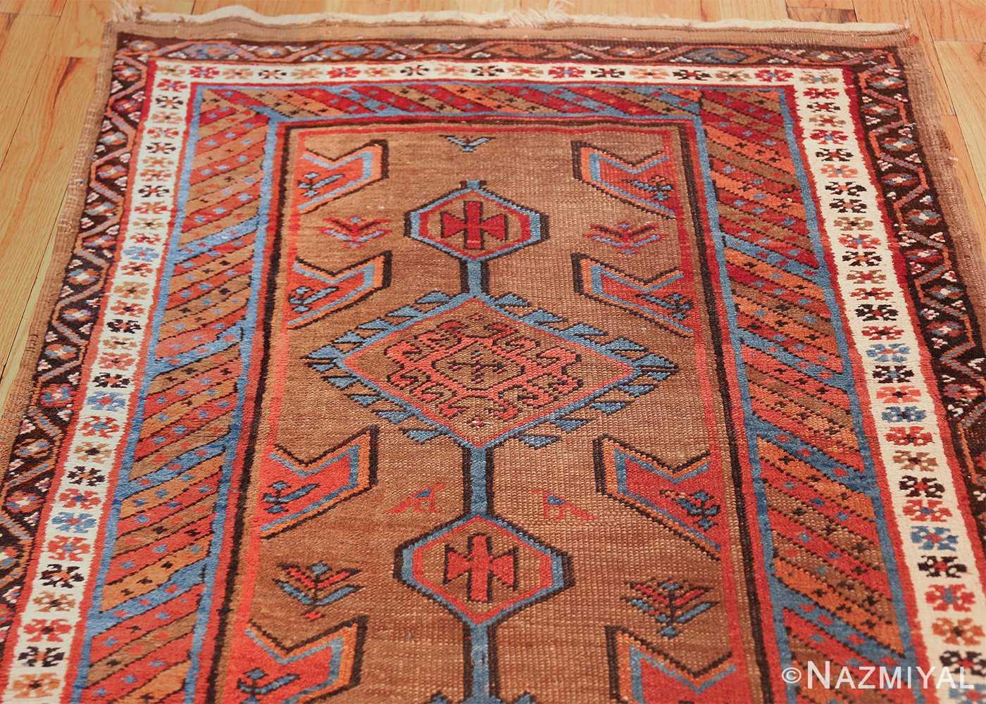 tribal antique persian bakshaish runner rug 49709 top Nazmiyal