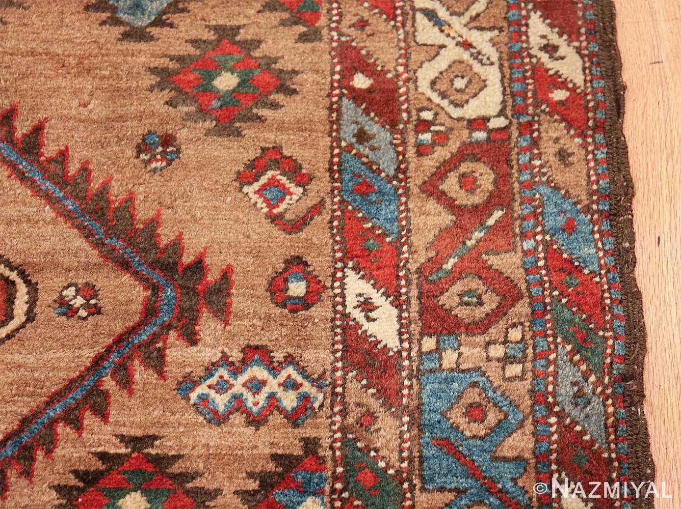 tribal antique persian bakshaish runner rug 49712 border Nazmiyal
