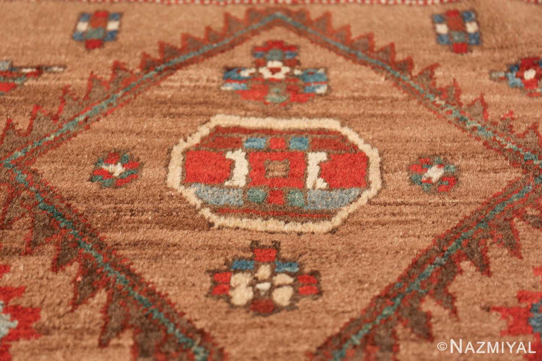 tribal antique persian bakshaish runner rug 49712 center Nazmiyal