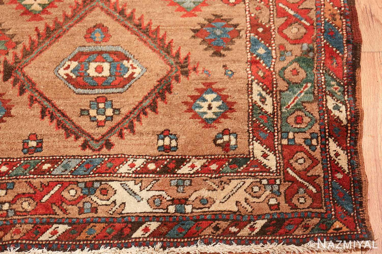 tribal antique persian bakshaish runner rug 49712 corner Nazmiyal