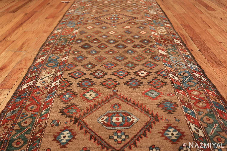 tribal antique persian bakshaish runner rug 49712 field Nazmiyal