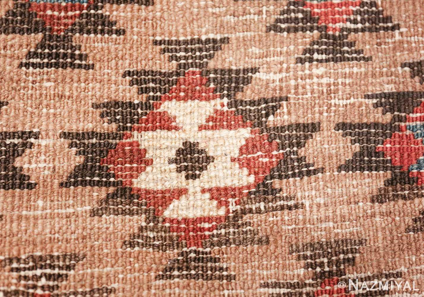 tribal antique persian bakshaish runner rug 49712 knots Nazmiyal