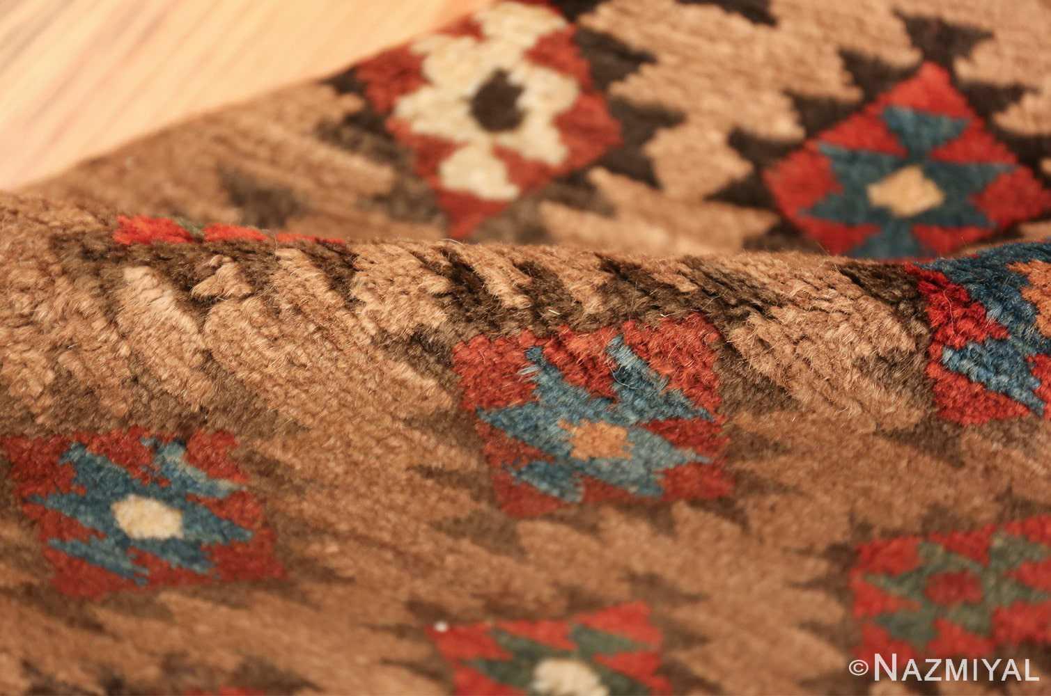 tribal antique persian bakshaish runner rug 49712 pile Nazmiyal