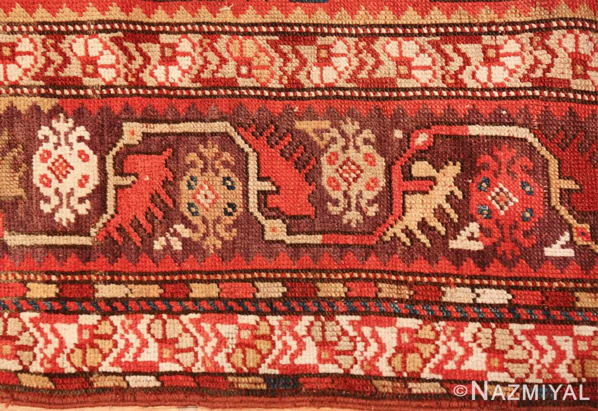 tribal antique turkish melas rug 49706 border Nazmiyal