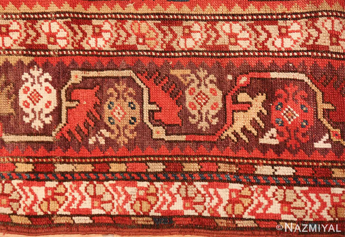 tribal antique turkish melas rug 49706 border Nazmiyal