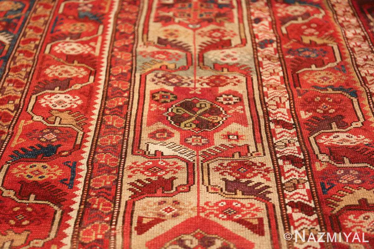 tribal antique turkish melas rug 49706 field Nazmiyal