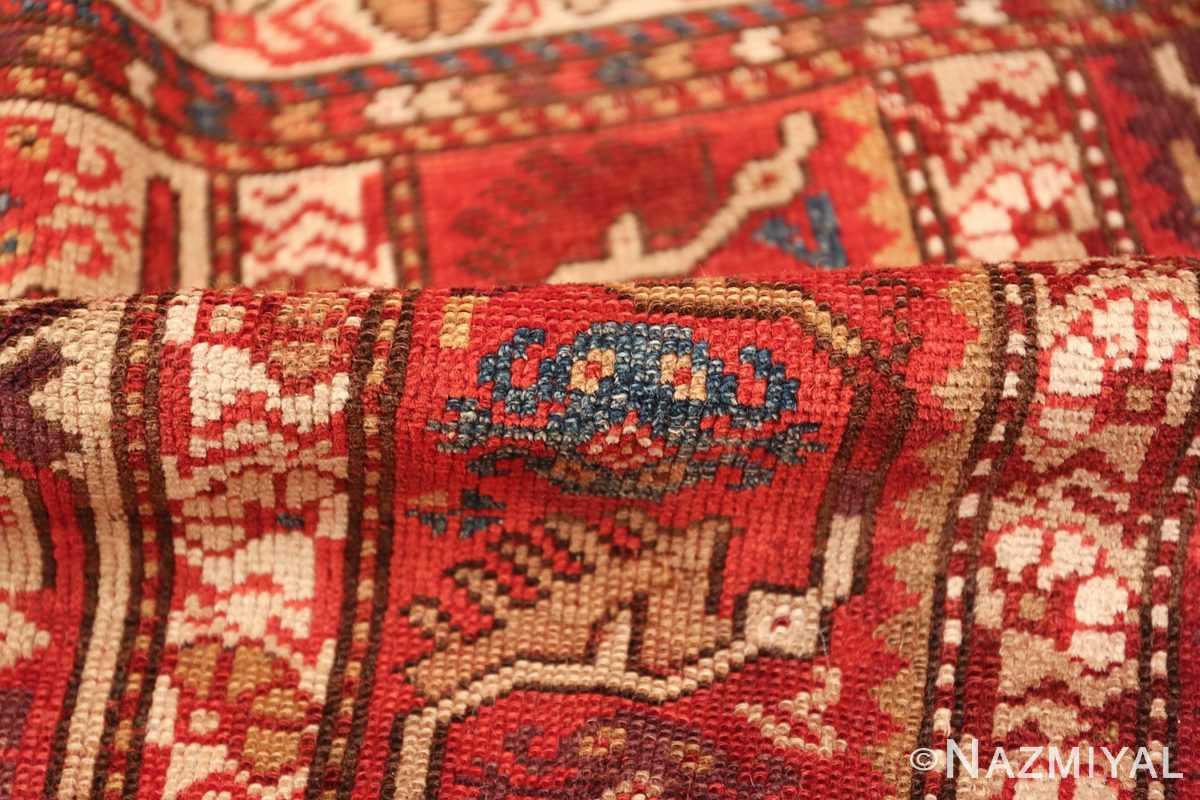 tribal antique turkish melas rug 49706 pile Nazmiyal